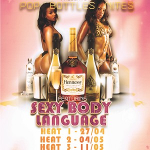 Summit Club Stripclub Wednesday Competition Pop Bottles Body Language